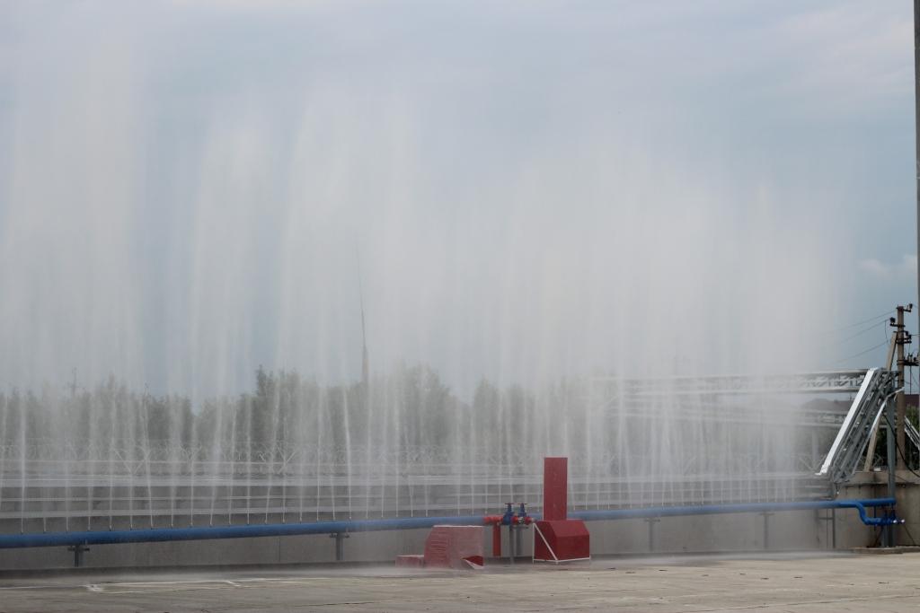 Система автоматической противопожарной защиты(ООО «ГАММА», Республика Адыгея, пгт. Яблоновский)