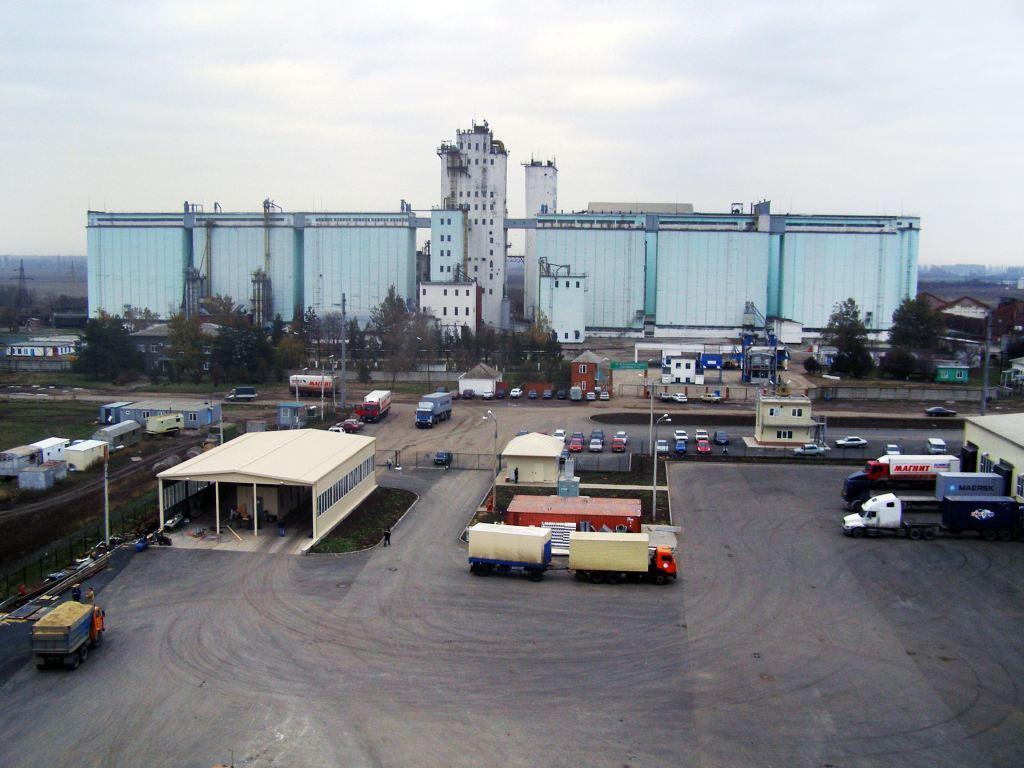 Элеваторный комплекс (ООО «Южная рисовая компания» Краснодарский край, ст.Холмская)