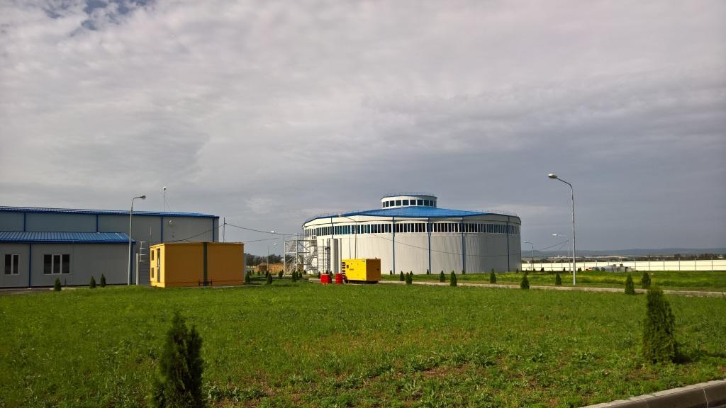 Очистные сооружения хозяйственно-бытовых сточных вод (ООО «Энвайромент Рус», Краснодарский край, г.Анапа)